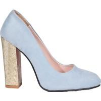 Eşle 9K-1464 Kadın Topuklu Ayakkabı Mavi