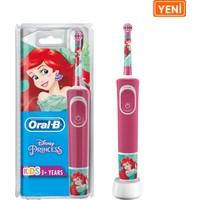 Oral-B Çocuklar İçin Şarj Edilebilir Diş Fırçası D100 Princess Özel Seri
