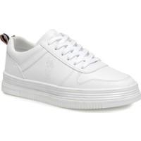 U.S Polo Assn. Surı Beyaz Kadın Sneaker Kalın Taban