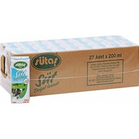 Sütaş Süt Koli 200 ml 27'li