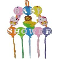Dünya Keçe Kapı Süsü Baby Shower Keçe 57 x100 cm