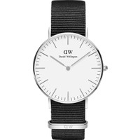 Daniel Wellington Classic 36 Cornwall S White Erkek Kol Saati DW00600260
