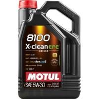 Motul 8100 X-Clean Efe 5W-30 4 Litre Motor Yağı ( Üretim Yılı : 2021 )