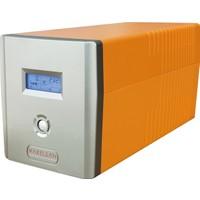 Makelsan Lion 2200VA LCD Ekran 2x9Ah 4-8Dk Line Interactive UPS MU02200L11MP005