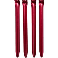Alpınıst Alüminyum 6061 Çadır Kazığı 18Cm Kırmızı