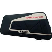 Knmaster Kask Bluetooth İnterkom Kn2000 / Tekli / 1800M. / Radyo