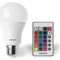 Ledolet Rgb LED Ampul 9 W E27 Duy Dımmerlı Uzaktan Kumandalı