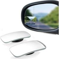 Kare Çerçevesiz Gerçek Cam Ultra Ince Kör Nokta Aynası 360 Derece
