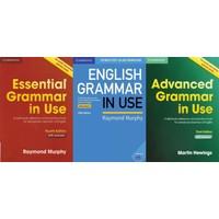 Cambridge University Press Essential Grammar In Use + English Grammar In Use + Advanced Grammar In Use + With Answers + CD