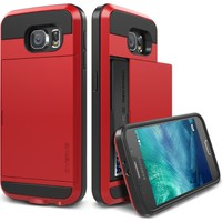 VRS Galaxy S6 Damda Slide Kılıf Crimson Red