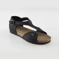 ART'iz Myra Deri Siyah Slim Sandalet 36