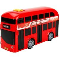 Teamsterz Sesli ve Işıklı Çift Katlı Otobüs 26 Cm.