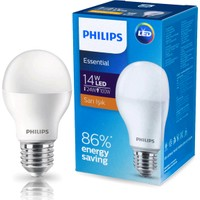 Philips Essential 14-100W LED Ampul E27 Sarı Işık