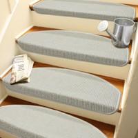 Stepmat Beyaz Renk Kendinden Yapışkanlı Merdiven Basamak Paspası Halısı