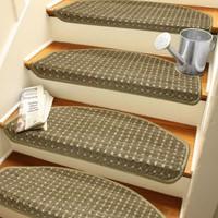 Stepmat Desenli Kendinden Yapışkanlı Merdiven Basamak Paspası Halısı