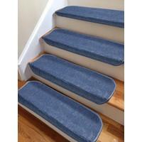 Stepmat Mavi Kendinden Yapışkanlı Merdiven Basamak Paspası Halısı