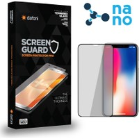 Dafoni Apple iPhone 11 Pro Curve Nano Glass Premium Siyah Cam Ekran Koruyucu