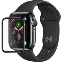 Dafoni Apple Watch 4/5 Curve Darbe Emici Ekran Koruyucu Film 40 mm