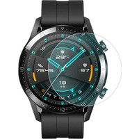 Dafoni Huawei Watch GT 2 Tempered Glass Cam Ekran Koruyucu 46 mm