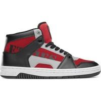 Etnies Mc Rap High Black Red Grey Ayakkabı