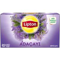 Lipton Bardak Poşet Bitki Çayı Adaçayı 20'Li