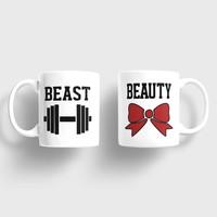 Sevgili Kupaları Beast Beauty Sevgili Kupaları
