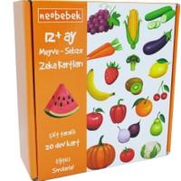 Neobebek Meyve - Sebze Zeka Kartları