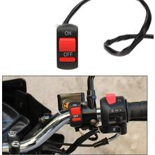 Knmaster Motosiklet Gidonuna Takılabilir Aç-Kapa Butonu / Switchi