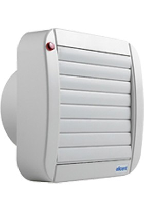 Elicent Eco DuvarTavan Tipi Fan Otomatik Panjurlu 100 mm