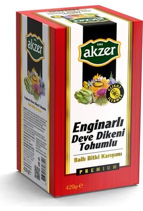 Akzer Enginarlı Deve Dikeni Tohumu Macun 420 gr