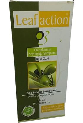 Leaf Action Ozonlanmış Zeytinyağı Şampuan 400 ml