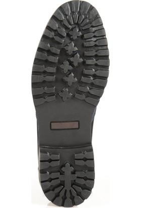 Ayakkabı Çarşı Günlük Lacivert Bağcıklı Hakiki Deri Erkek