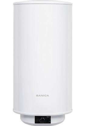 Geyser Silindir Termosifon 80 Litre Analog Beyaz