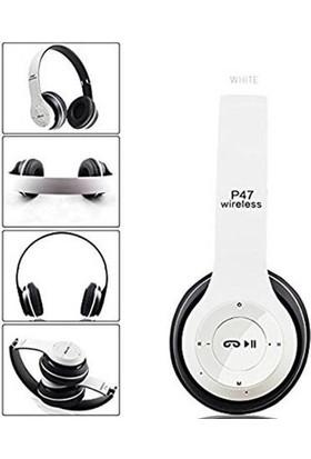 Daytona Sd Kart Girişli Bluetooth 5.0 Kulaklık-Beyaz