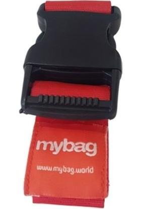 Mybag Kırmızı Valiz Kemeri