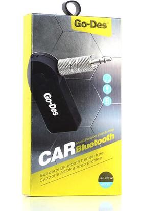 Go-Des GD-BT102 Kablosuz Ses Alıcısı Bluetooth Adaptör