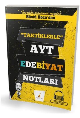 Pelikan Yayınları Rüştü Hoca'dan Taktiklerle Ayt Edebiyat Notları
