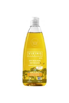 Viking Premium Sıvı Bulaşık Deterjanı – Nergis & Bergamot 750 ml