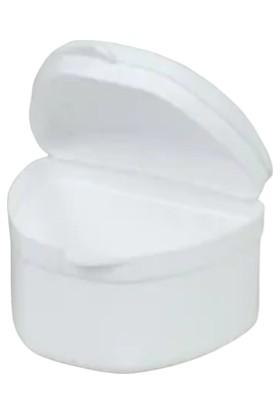 Minion Diş Protez Kutusu Beyaz