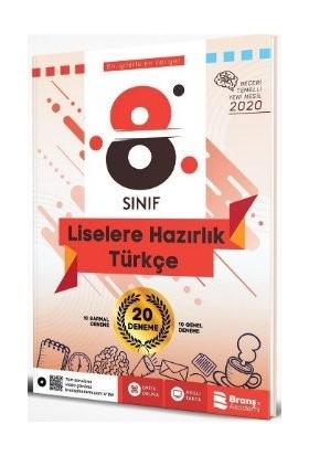 Branş Akademi 8.Sınıf LGS Türkçe Beceri Temelli 20 Deneme 2020