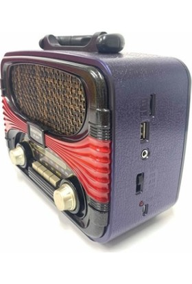 Everton RT-807 Nostaljik Bluetooth / Fm Radyo / USB / Sd Kart
