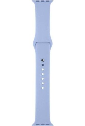 Glr Apple Watch Series Silikon Kordon -Lila