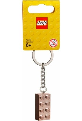LEGO Brick 853793 2x4 Rose Gold Anahtarlık