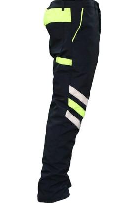 Ysf İçi Elyaflı Reflektörlü Pantolon Sarı L
