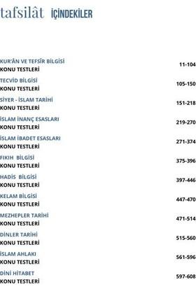 Ddy Yayınları Dhbt 2020 Tafsilat Serisi Tüm Adaylar Soru Bankası