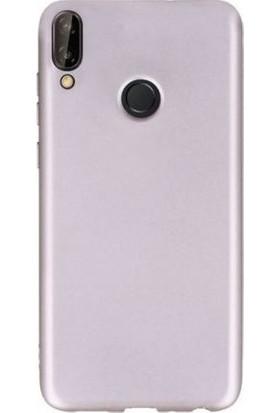 Teleplus Samsung Galaxy M10s Lüks Silikon Kılıf Rose Gold
