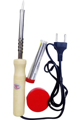 Makro Yapı Kalem Havya Teli ve Lehim Pastası 3'lü Set 40 W Lehim Cihazı
