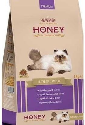 Honey Premium (Sterilised) Kısırlaştırılmış Tavuklu Kedi Maması 1 kg