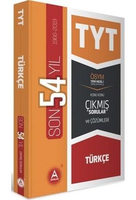 A Yayınları Tyt Türkçe Son 54 Yıl Tamamı Çözümlü Konu Konu Çıkmış Sorular