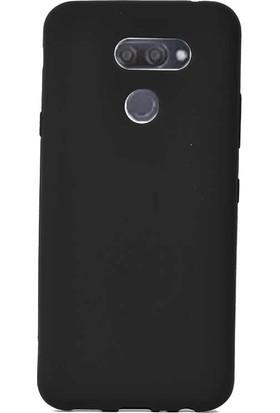 Case Street LG K40S Kılıf Premier Silikon Esnek Koruma Siyah